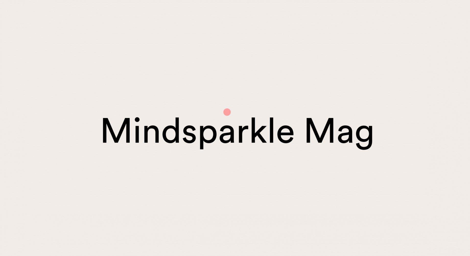 Mindsparkle magazine – Brand Identity homm